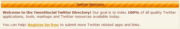 tweetsocial-directory