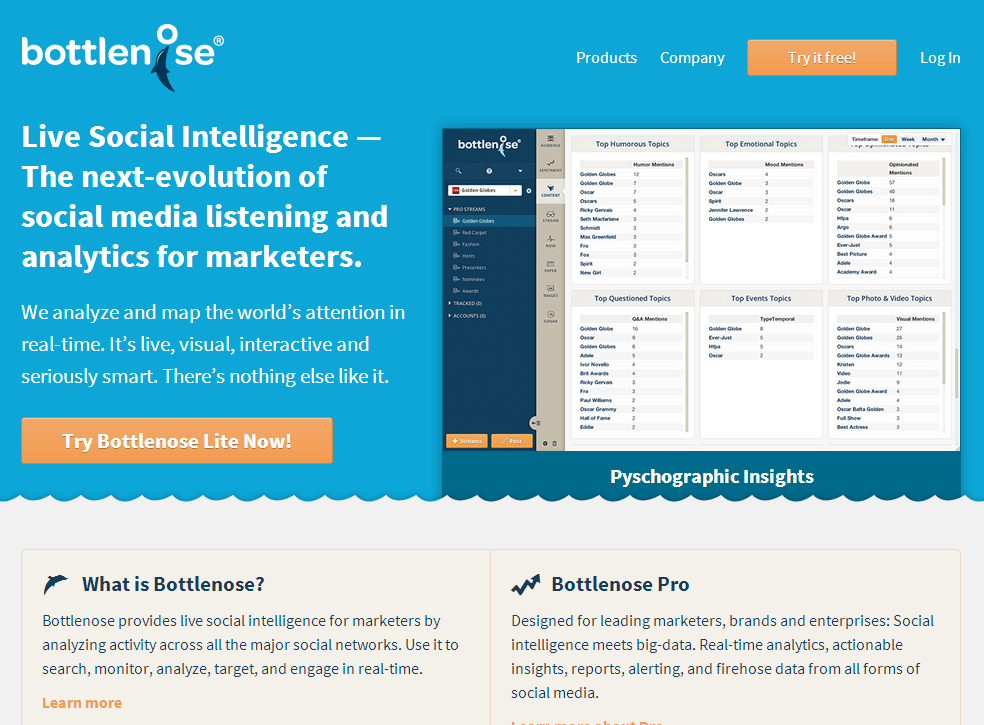 bottlenose-social-intelligence