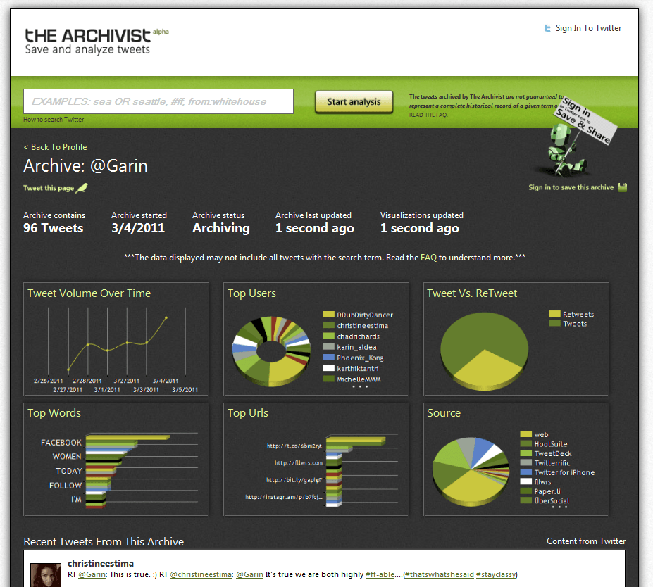 10 Awesome Twitter Analytics and Visualization Tools